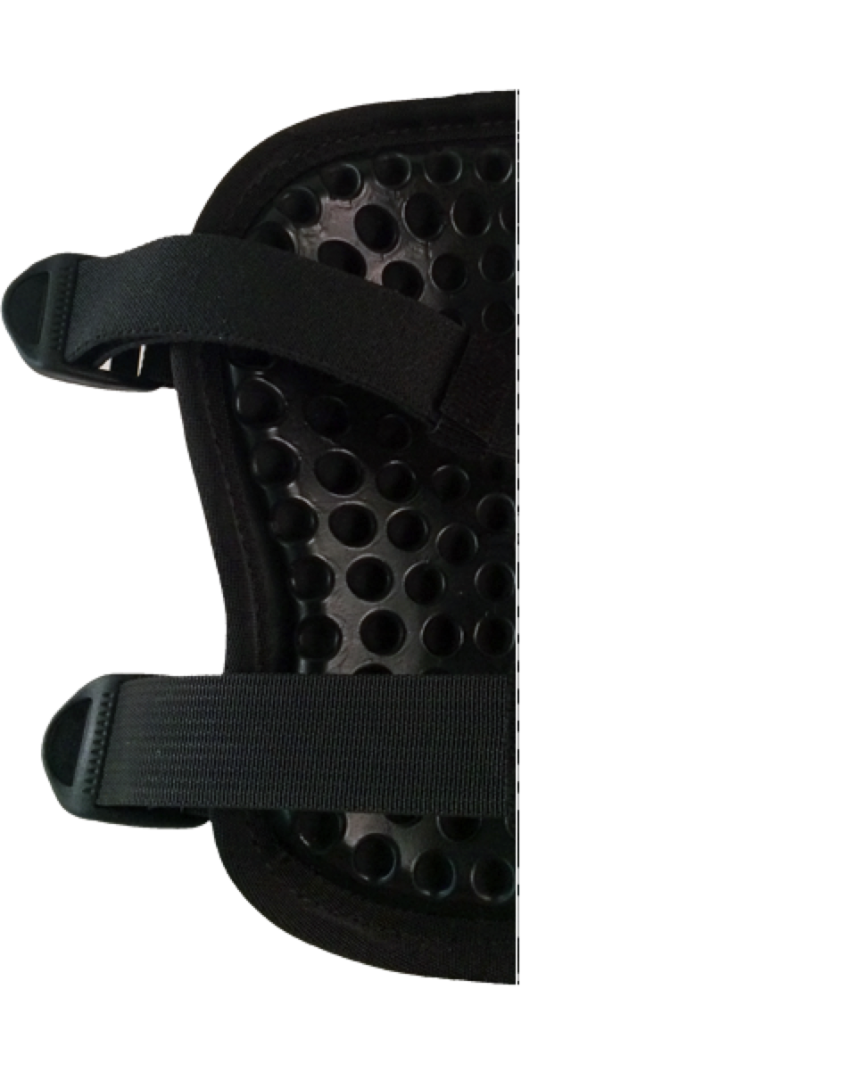 SKYDEX protected knee pad